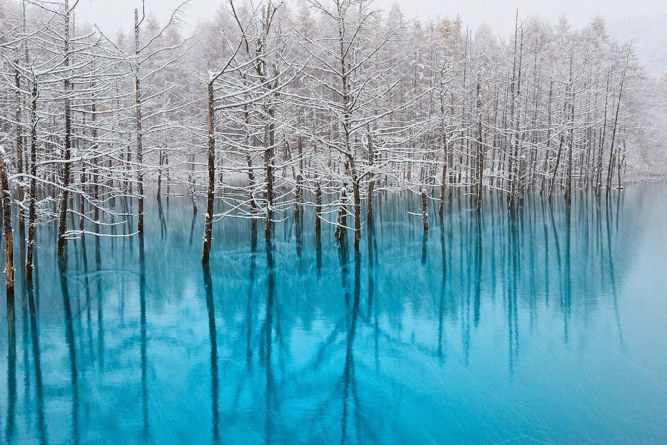 Blue Pond Hokkaido Japan-Smarttravel-BG