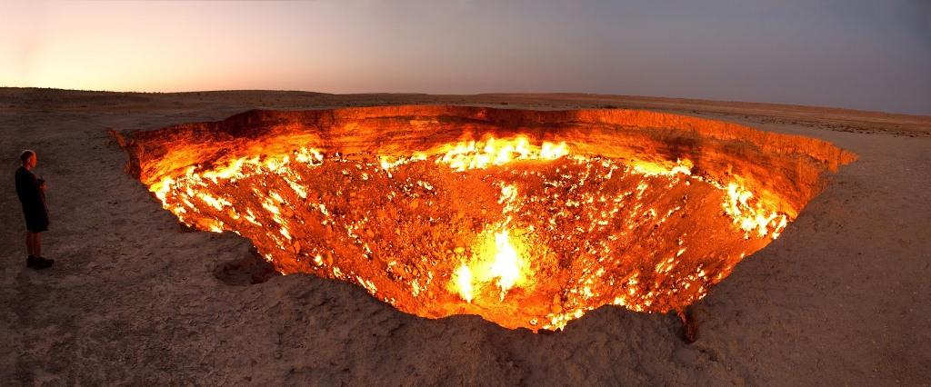 Door to Hell, Derweze, Turkmenistan-Smarttravel-BG